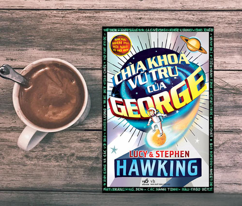 Cuốn sách Chìa khóa vũ trụ của George.