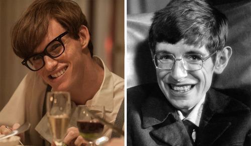 Eddie Redmayne tiếp xúc với Stephen Hawking nhiều tháng để hiểu về tâm lý của nhân vật anh hóa thân.