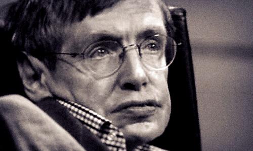 Ông hoàng vật lý Stephen Hawking.