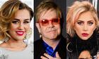 Miley Cyrus, Lady Gaga hát trong album mới của Elton John