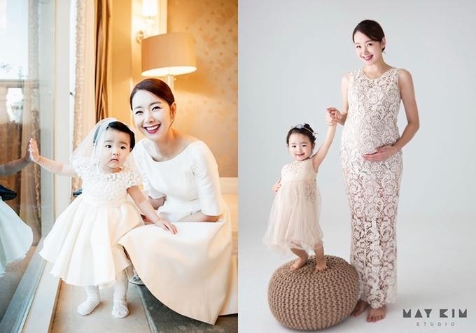"""<p> In Kyo Jin thường chia sẻ hình ảnh vợ con. Tài tử tâm sự: """"Tôi hạnh phúc mỗi khi nhìn vẻ đáng yêu của các con gái và nụ cười rạng rỡ trên mặt bà xã"""".</p>"""