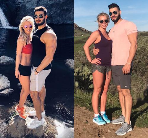 Từ khi hẹn hò với huấn luyện viên thể hình Sam Asghari hồi đầu năm ngoái, Britney Spears càng chăm chỉ tập luyện. Cô đã lấy lại được eo thon và thường xuyên đăng ảnh trên trang cá nhân. Người đẹp cũng tự tin mặc nhiều trang phục gợi cảm trong các buổi biểu diễn ở Las Vegas.