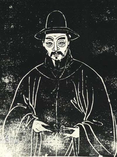 Bia khắc Đường Bá Hổ ở Tô Châu, Trung Quốc.