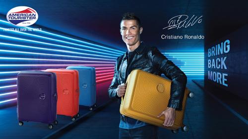 Cristiano Ronaldo làm đại sứ thương hiệu American Tourister 2018 - 1