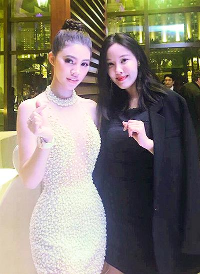 Ca sĩ Hyomin (nhóm T-ara) cũng tới tham dự