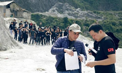 Lương Đình Dũng tổ chức casting phim trên đèo Đá Trắng