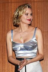 """""""Bông hồng Đức' Diane Kruger đẹp nhất tuần với áo corset"""