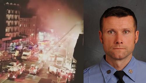 Michael R. Davidson qua đời khi cứu hỏa.