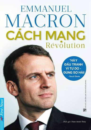 Bìa sách Cách mạng (tên gốc: Revolution).