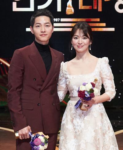 Song Hye Kyo và Song Joong Ki.