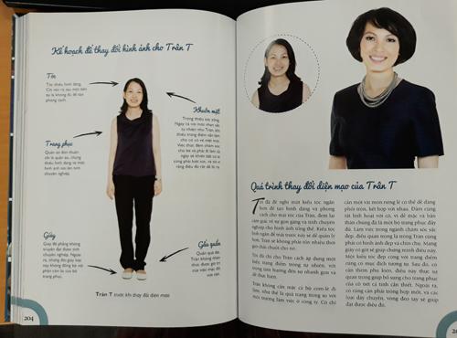 Chị Trân - một trong những người chia sẻ hành trình thay đổi phong cách trong cuốn sách.