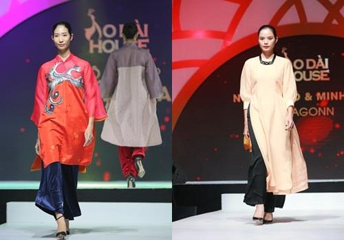 Áo dài Việt được biến tấu mới lạ xen lẫn truyền thống - 4