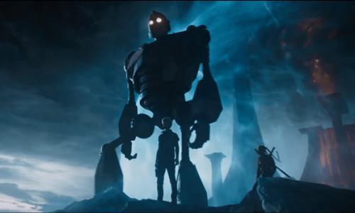 Robot Iron Giant từ phim hoạt hình nổi tiếngThe Iron Giant(1999) xuất hiện trong Ready Player One.