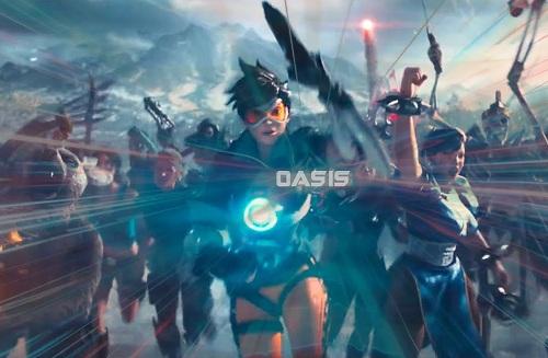 Người chơi có thể hóa đủ kiểu nhân vật trong OASIS.