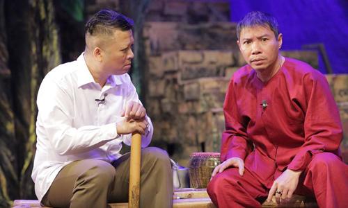 Anh em Hàm (phải) - Thủ (trái) trong Mảnh đất lắm người nhiều ma.