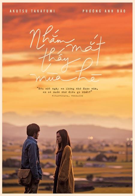 'Nhắm mắt thấy mùa hè' - phim tình cảm Việt Nam quay ở Nhật