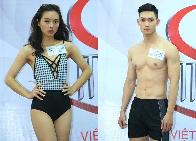 Phương Mai mặc áo hở ngực đi chấm Siêu mẫu Việt Nam 2018