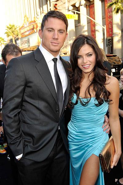 Năm 2009, Jenna và Channing tổ chức đám cưới tại Malibu, Mỹ ở nhà riêng với khách mời là những ngôi sao trong làng giải trí.