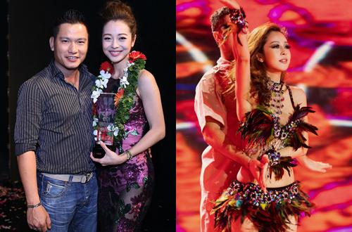 Cô chứng tỏ hình ảnh một nghệ sĩ đa năng khi liên tục tham gia các cuộc thi nhảy, hát như Cặp đôi hoàn hảo 2014 và Bước nhảy Hoàn vũ 2016.