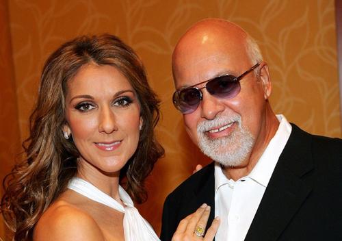 Celine Dion và chồng, Rene Angelil.