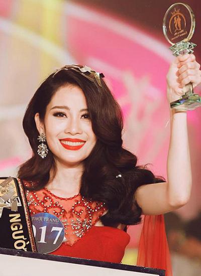 Lệ Nam đăng quang Người mẫu thời trang Việt Nam 2018.