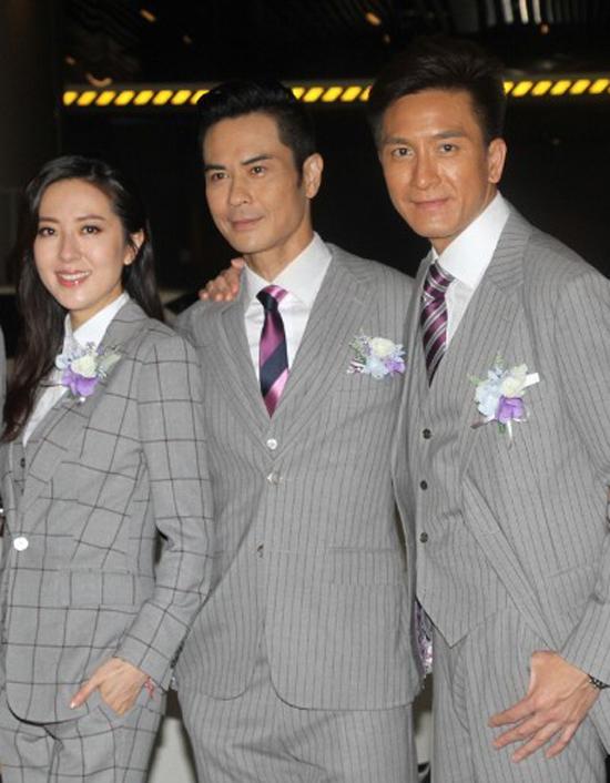 Dàn sao Hong Kong dự đám cưới tài tử 'Vua hài'