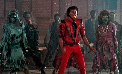 Trang phục của Michael Jackson (áo đỏ) được tái hiện trong Ready Player One.