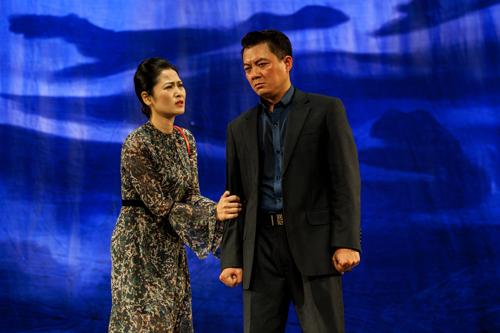 Vở Vùng lạnh của Nhà hát sân khấu kịch Hà Nội.
