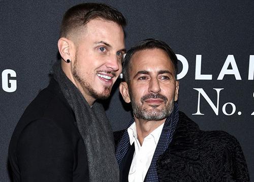 Marc Jacobs và bạn trai.