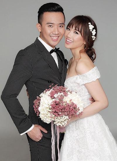 Vợ chồng Hariwon - Trấn Thành.