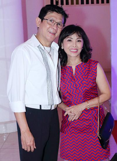Nghệ sĩ Bảo Trí và vợ Kim Tuyết.