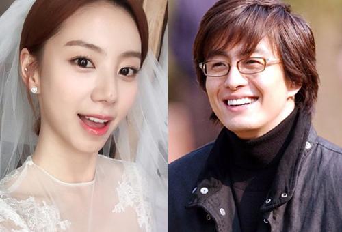 Park Soo Jin và Bae Yong Joon.