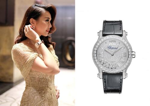 Những mẫu đồng hồ Chopard được sao Việt yêu thích  - 1