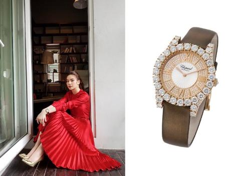 Những mẫu đồng hồ Chopard được sao Việt yêu thích