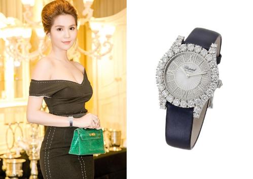 Những mẫu đồng hồ Chopard được sao Việt yêu thích  - 6