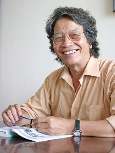 Cựu giám đốc Trung tâm Bảo vệ quyền tác giả âm nhạc Việt Nam - nhạc sĩ Phó Đức Phương.