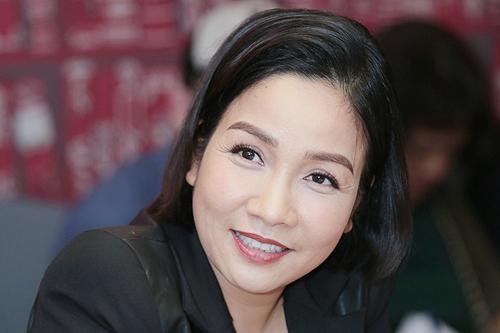 Ca sĩ Mỹ Linh chia sẻ trong buổi họp báo.