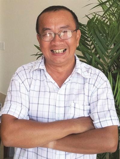 Ông bầu Idecaf Huỳnh Anh Tuấn.