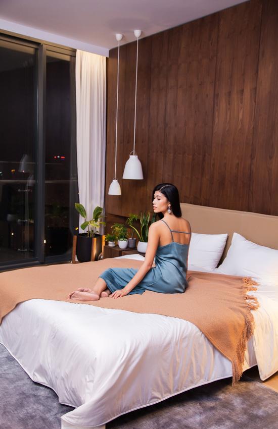 Penthouse 400 m2 của vợ chồng Trang Lạ