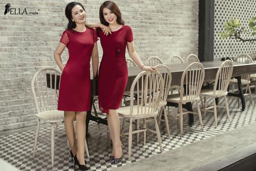 Sự kết hợp váy xòe, váy suông, hay đầm dáng ôm với đường cut-out tôn vẻ sang trọng cho những quý bà, quý cô hiện đại.