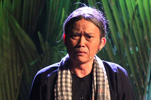 Hoài Linh khoe khả năng diễn bi trong kịch Hiu hiu gió bấc. Ảnh: Mai Nhật.