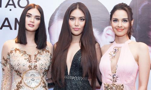 Hai hoa hậu quốc tế đánh giá cao nhan sắc Việt