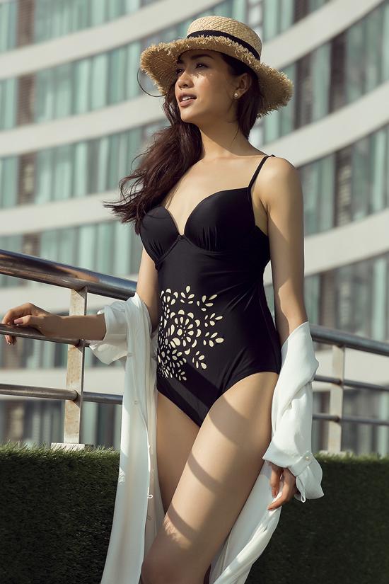 Á hậu Lệ Hằng gợi ý trang phục mùa hè