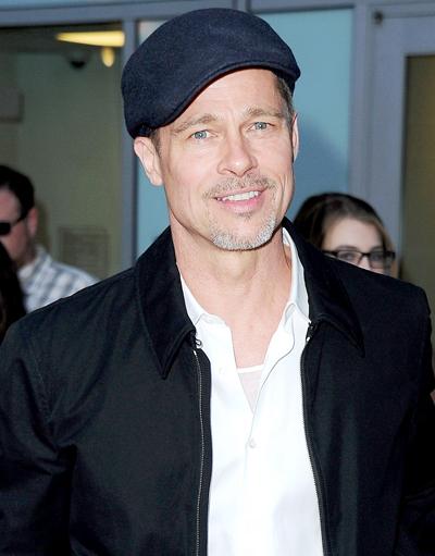 Brad Pitt được cho là luôn tươi cười và hạnh phúc khi gặp Neri Oxman.