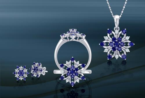 Kim cương là loại đá quý này tượng trưng cho sức mạnh, sự may mắn và khả năng tán sắc rực rỡ.