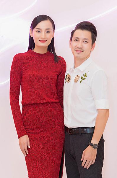 Vợ chồng Lê Thúy - Đỗ An. Ảnh: Huy Phạm.