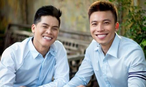 John Huy Trần và Nhiệm Huỳnh.