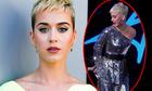 Katy Perry gặp sự cố trang phục trên sóng truyền hình