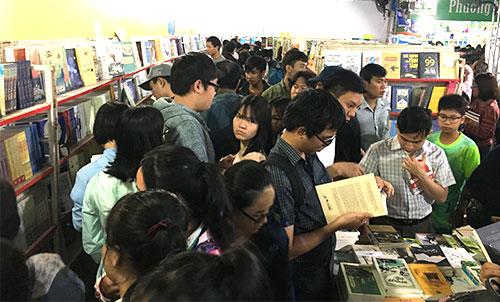 Hơn một triệu ấn bản phục vụ độc giả hội sách ở Đà Nẵng