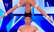 Quốc Cơ, Quốc Nghiệp xiếc chồng đầu gây kinh ngạc ở Britain's Got Talent